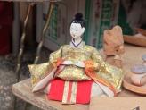 Mercado de antiguidades em Machida