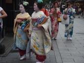 Gueixas em Gion, Kyoto