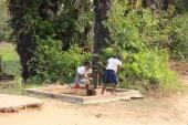 Poço nas imediações de Siem Reap, Camboja