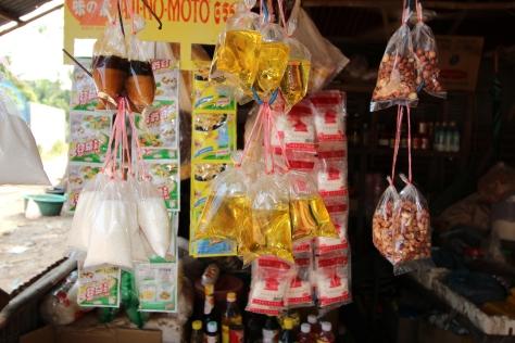 Mercado de um vilarejo rural