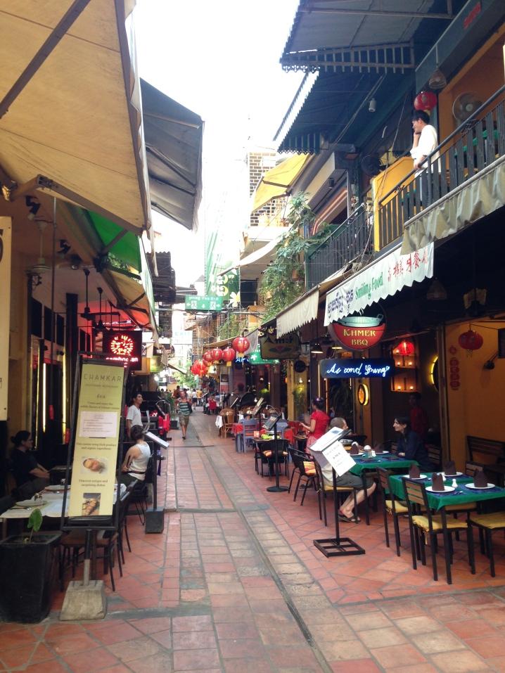 área turística em Siem Reap